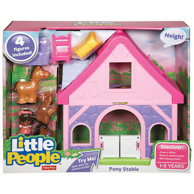 Fisher-Price Little People Pony Stable - NEW