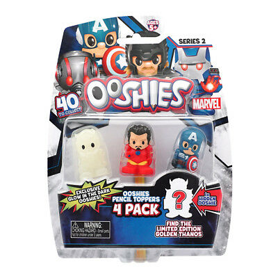 Marvel Ooshies 4 Pack Series 2 - Assorted - NEW