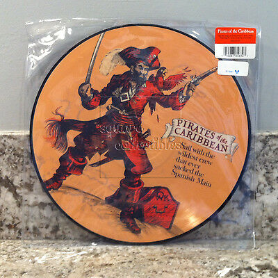 Disney Parks D23 Pirates of the Caribbean Attraction Vinyl Record Soundtrack