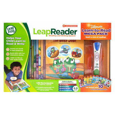 Leap Frog Leapreader Ultimate Learn-To-Read Mega Pack - NEW