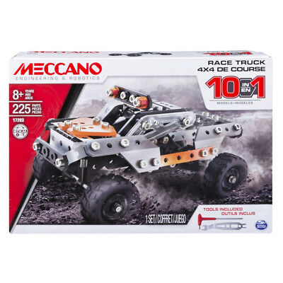 Meccano 10 Models Set - Truck - NEW