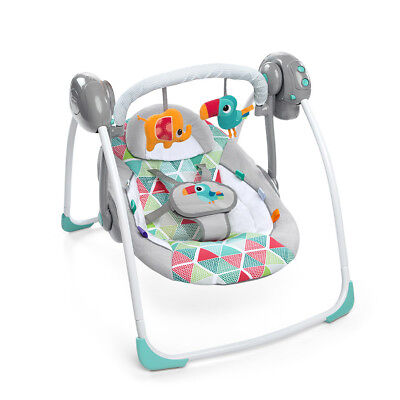 Bright Starts Portable Swing - Toucan Tango - NEW