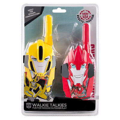 Transformers Moulded Walkie Talkies - NEW