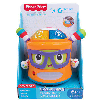 Fisher-Price Franky Beats Bat & Boogie - NEW