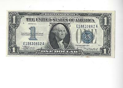1934 Uncirculated $1 Silver Certificate