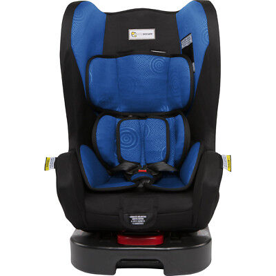 Infasecure Ascent II Car Seat - Blue Swirl - NEW