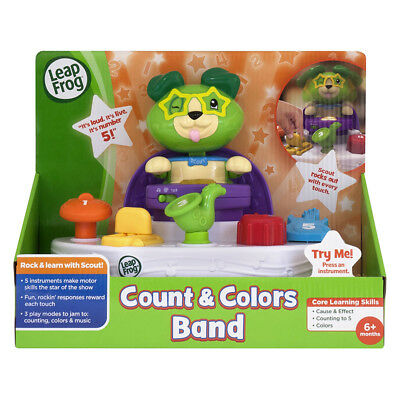 Leapfrog Scout'S Count And Colours Band - NEW