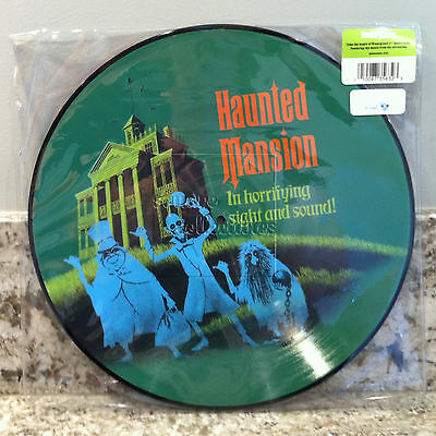 Disney Parks D23 Haunted Mansion Attraction Vinyl Record Soundtrack