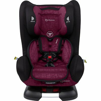 InfaSecure Quattro Elements Convertible Car Seat - Rose - NEW