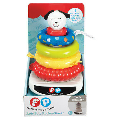 Fisher-Price Roly Poly Rock-A-Stack - NEW