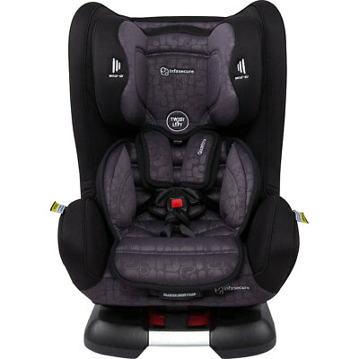 InfaSecure Quattro Elements Convertible Car Seat - Grey - NEW
