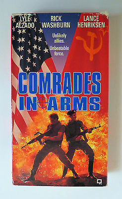 Comrades in Arms (VHS, 1991) Lyle Alzado Rick Washburn Rare OOP Not on DVD