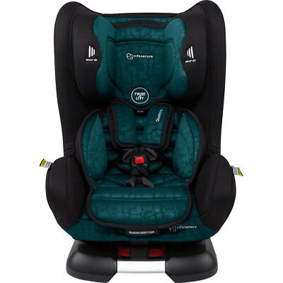 InfaSecure Quattro Elements Convertible Car Seat - Jade - NEW