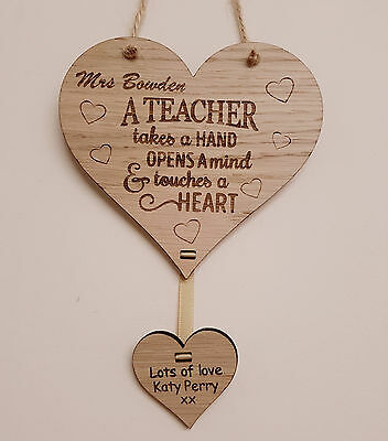 Personalised Christmas Gift For Teacher School Nursery End Of Year Term Gifts