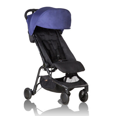 Mountain Buggy Nano Travel Stroller - Nautical - NEW