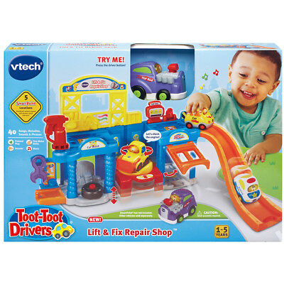 VTech Toot Toot Drivers Auto Repair Centre - NEW