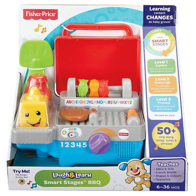Fisher-Price Laugh & Learn Smart Stages BBQ - NEW