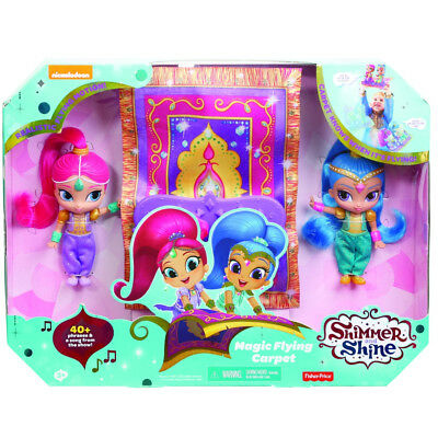 Fisher-Price Shimmer And Shine Magical Flying Carpet - NEW