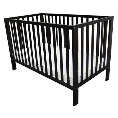 Babies R Us Finley 2-In-1 Cot - Espresso - NEW