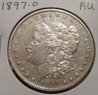 1897-O Morgan Silver Dollar Au Rare High Grade Key Date Us Silver Coin!!!!!!!!!!