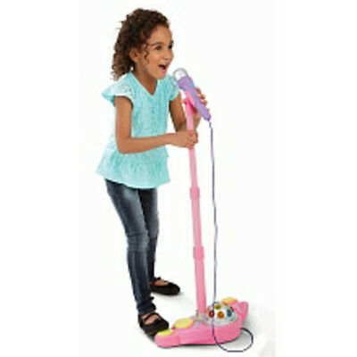 Bruin Microphone Stand with Lights - Pink - NEW