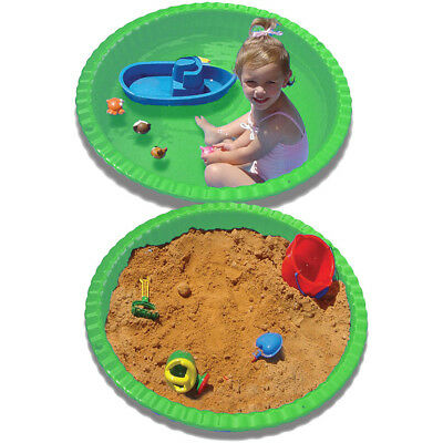 Stats Clam Shell Pool & Sand Pit - Green - NEW