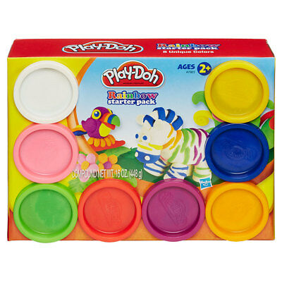 Play-Doh Rainbow Starter Pack - NEW