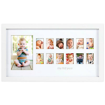 Pearhead My First Year Moments Photo Frame - NEW
