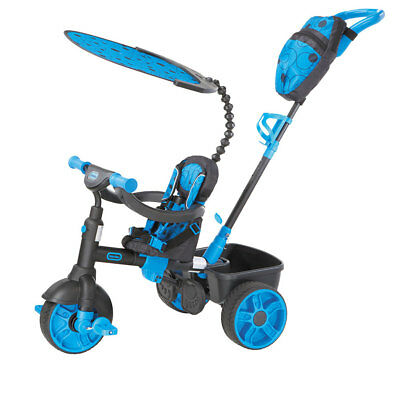 Little Tikes 4 in 1 Deluxe Trike - Neon Blue - NEW
