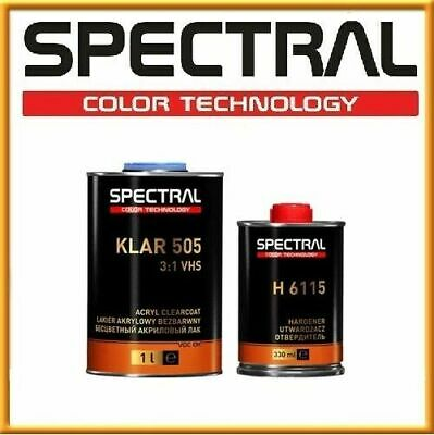 Spectral 505 Fast Acrylic Clear coat 2K High Gloss VHS 1.33L KIT Spot Repair