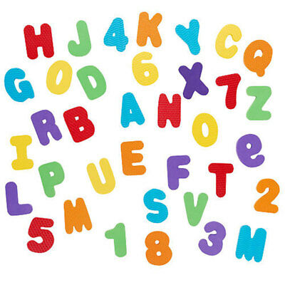 Babies R Us 36 Piece Foam Numbers & Letters - NEW