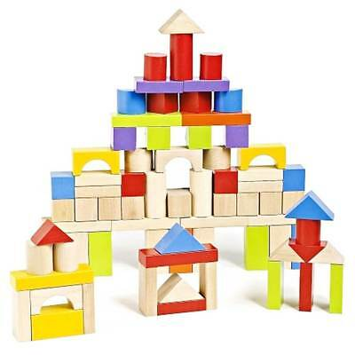 Imaginarium 75 Piece Wooden Block Set - NEW