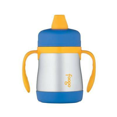 Thermos Stainless Steel Sippy Cup - Blue - NEW