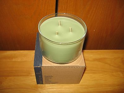New Partylite Zen Thyme 3 wick candle G34576