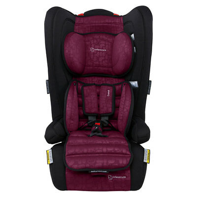 Infasecure Comfi Elements II Convertible Booster Seat - Rose - NEW