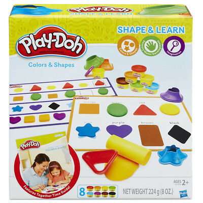 Playdoh Colours & Shapes - NEW