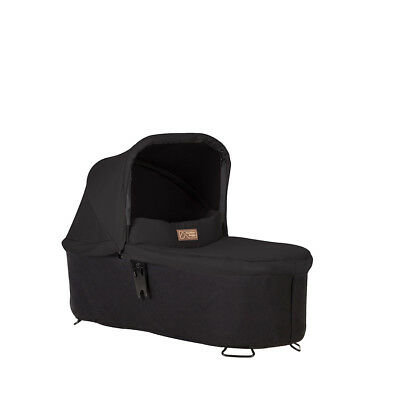 Mountain Buggy Carrycot Plus For Swift And MB Mini - Black - NEW