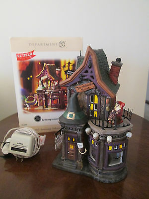 Department dept 56 BEWITCHING COSTUME SHOP snow village halloween MIB witching