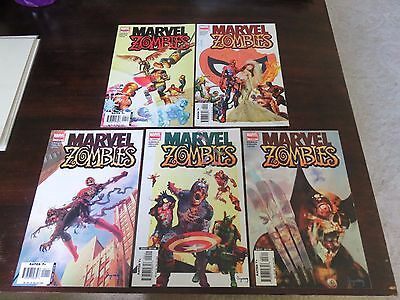 Marvel Zombies MGC #1-5 (2010, Marvel) Complete Set VF+ to NM