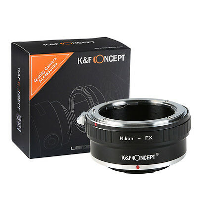K&F Concept Adapter for Nikon AI F Lens to Fuji Fujifilm FX X-Pro1 XPro1 Camera