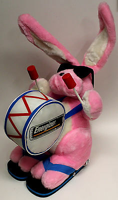"Energizer Bunny Mail-In 23"" Plush Stuffed Rabbit w/Flip Flops + Sunglasses-1995"