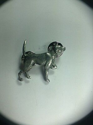 English Pointer Dog Pin Made Of Fine Pewter