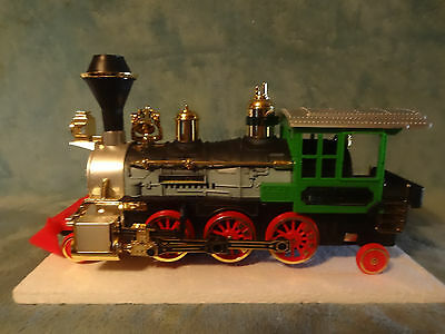 1987 New Bright-Old Smokey Express Battery Operated Locomotive  Bump-N-Go Action