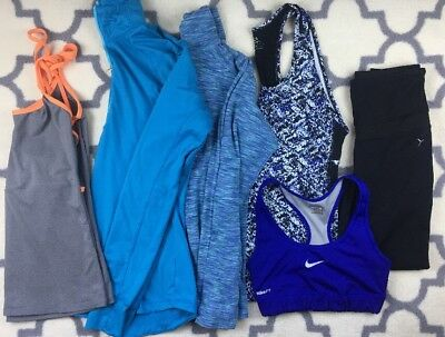 BIG lot womens workout clothing SMALL old navy Columbia Nike fabletics tank