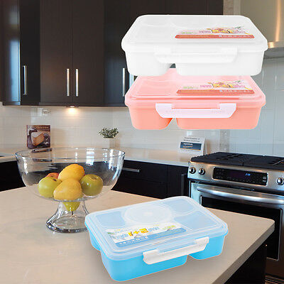 Portable Microwave Lunch Box for Kids 5+1 Food Container Plastic Food Box QW