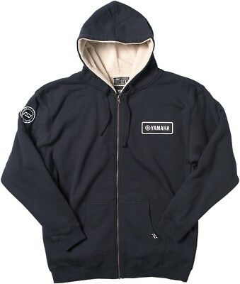 FACTORY EFFEX-APPAREL Mens Adult Yamaha Sherpa Hoodie XL