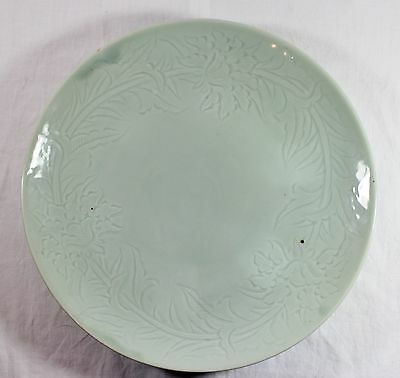 RARE Large Antique Chinese CELEDON Plate Charger
