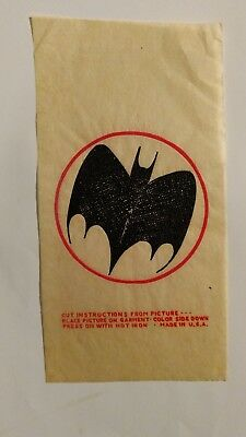 Vintage Mister Softee Premium Iron On Batman Transfer