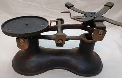 Antique/Vintage Cast Iron Weight & Balance Scale, Counter Weight Scale