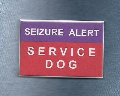 ~~ $ALE ~~ SEIZURE ALERT SERVICE DOG -purple  -  use instead of patch